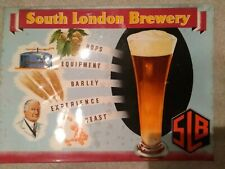 Brewery advertising signs