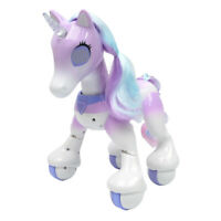 Electronic Family Pet - RC Robot Cute Interactive Unicorn Toy Gift For Kids