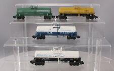 American Models S Scale Tank Cars: Wyandotte 79337, Engelhard 14033, Corn 1691,
