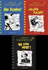 Gregs Tagebuch Band 10 + 11 + 12 - alle drei Bücher Im Set!