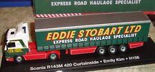 EDDIE STOBART - SCANIA R143M 420 CURTAINSIDE TRUCK - EMILY KIM  -1:76 - BOXED