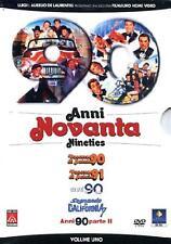 Dvd ANNI NOVANTA 90 - Parte 01 - (Box 5 Dvd Film) .....NUOVO