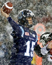 Ricky Ray - Argos, 2017 Grey Cup Game ( 8x10 Color Photo)
