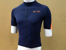 31bbad8ae BRAND NEW Le Col Pro Short Sleeve Jersey Navy   Orange Small