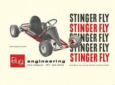 Vintage 1962 Bug Stinger Fly Go-Kart Ad