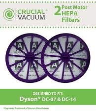 4 REPL Dyson DC07, DC14 Purple Post-Motor HEPA Filters Part # 901420-02