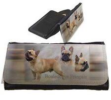 Frauen Geldbörse Brieftasche Französische Bulldogge 2 French Bulldog Portemonnai