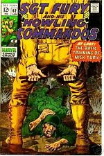 SGT FURY 62 F SERGEANT & HIS HOWLING COMMANDOS 1963 MARVEL NICK AGENT OF SHIELD