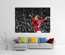 Robin van persie RVP Homme Manchester United géant Mur Art PHOTO PRINT POSTER