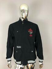 LRG Lifted Research Group Men's Black Color Zipper Sweatshirt Size L