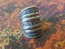 VINTAGE Kalevala Koru Perniö Water Sign Ring Sterling Silver Modernist FINLAND 7