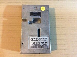 Audi Q7 4.2TDI 2008 MMI Multimedia Interface Module Unit 4E0035785D 4e0035785d
