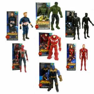 30cm Marvel The Avengers Superheld Spiderman Action Figur Figuren Spielzeug Neu