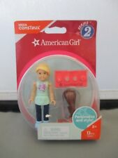 American Girl Mega Bloks Blond Brunette Doll Figure Series 2  - New!!