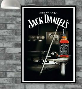Jack Daniels Poster Picture Vintage Old Wall Man Cave Bar  (TP333)