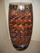 Flaschenregal Weinfass Für 23 Flaschen rustikal Holz Höhe ca : 99 cm Tannenholz
