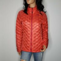 The North Face Thermoball Quilted Down Full-Zip Jacket Womens Size Small Pink