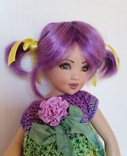 Monique Honor Wig 5/6 for Tyler Deja Vu Sad Sally Monster High Pukifee Purple