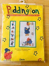 "Paddington Bear Cross Stitch Kit Counted Height Chart 29""x6"" Anchor New PBC06"