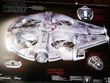 Air Hogs Star Wars Remote Control Millennium Falcon XL Drone, Lights Sound NEW