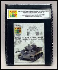 ABER 1/16 scale German Tiger I (early) tank extreme upgrade kit 16K01 for Tamiya