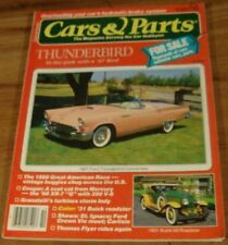 1986.CARS & PARTS.Pink 1957 Ford THUNDERBIRD Convertible.1931 BUICK Roadster