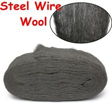 Steel Wire Wool Grade 0000 3.3m For Polishing Cleaning Remover Non Crumble  /