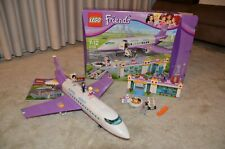 LEGO Friends Heartlake Airport (41109) Box and Manuals