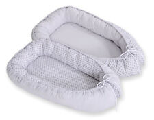 Newborn Double sided Baby Cocoon Sleep Nest Cushion Breathable Snuggle Pod Flow