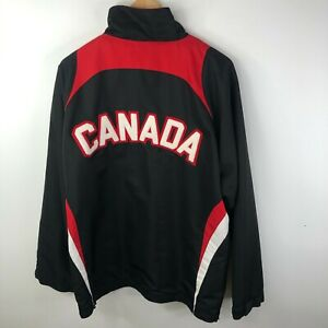 Praha Challenge Cup Team Canada Jacket Mens XL Rodeo Western Light Weight