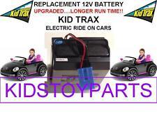 NEW! LONG LASTING VW BEETLE CAR KID TRAX 12V 15AH  BATTERY BLUE W/PLUG