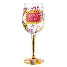 Lolita GLS11-5530R Birthday Girl Wine Glass
