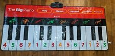 "FAO Schwarz The Big Piano Dance Mat 69"" Long - Fun for Kids! Tested Works Great!"