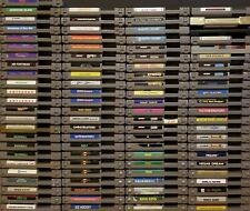 Nintendo NES Games Custom Build Lot-Cleaned Pins, Tested,DISCOUNT FAST SHIPPING