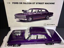 AUTOart 1:18 Ford XR Falcon GT Street Machine Purple Pearl GT Orange Stripes NEW