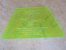 """Quilt Template 5"""" Half Hexagon Fantastic for Jelly Rolls & Charm Pack Brand New"""