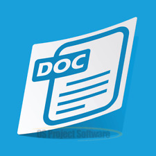 Office Software - Word DOC DOCX Compatible Microsoft Windows 7 8 10 PC Mac 2013