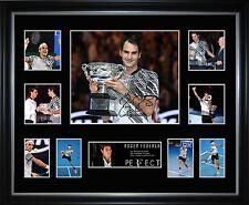 Roger Federer Limited Edition Framed Memorabilia
