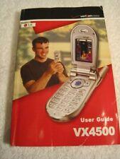 Manual only for LG VX4500  Metallic Silver Cellular Phone - Verizon Flip Phone