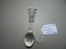 Rare! Large Disney Mgm Studios Pewter Collectible/Souvenir Spoon