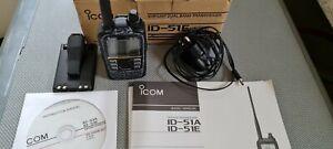 Icom ID51E plus2 D-Star dual band transceiver.