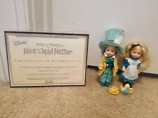 Barbie Kelly and Tommy Dolls as Alice and the Mad Hatter 2002 Collector Edition