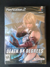 PS2 DEATH BY DEGREES US - NEUF/Scellé - NEW FACTORY SEALED