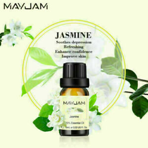 10ml Essential Oil 100% Pure Natural Fragrance Oil  Aromatherapy Therapeutic SPA