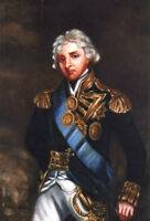 "perfect 24x36 oil painting handpainted on canvas""Admiral"" N10732"