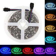 SUPERNIGHT 16.4ft 5050 SMD 150Leds 5M RGB LED Strip Light 30led/m Non-Waterproof