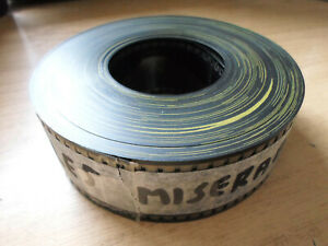 35mm LES MISERABLES trailer. Jean-Paul Belmondo (1995). Film cells