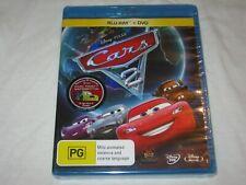Cars 1 & 2 Disney Pixar Blu-ray DVD 4 Discs Collection VGC Post