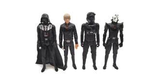Star Wars Titan Hero Series 12 Inch Figures Lot Of 4 Darth Vader Luke Inquisitor