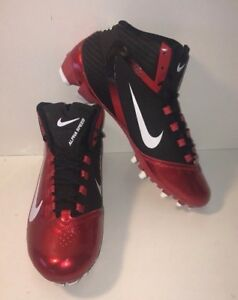 Nike Alpha Speed TD Football Cleats Red/Black/White 442244-016